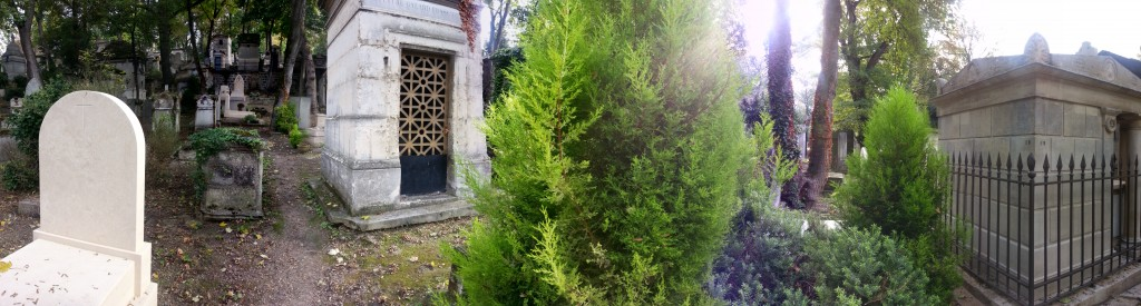 pere lachaise panorama