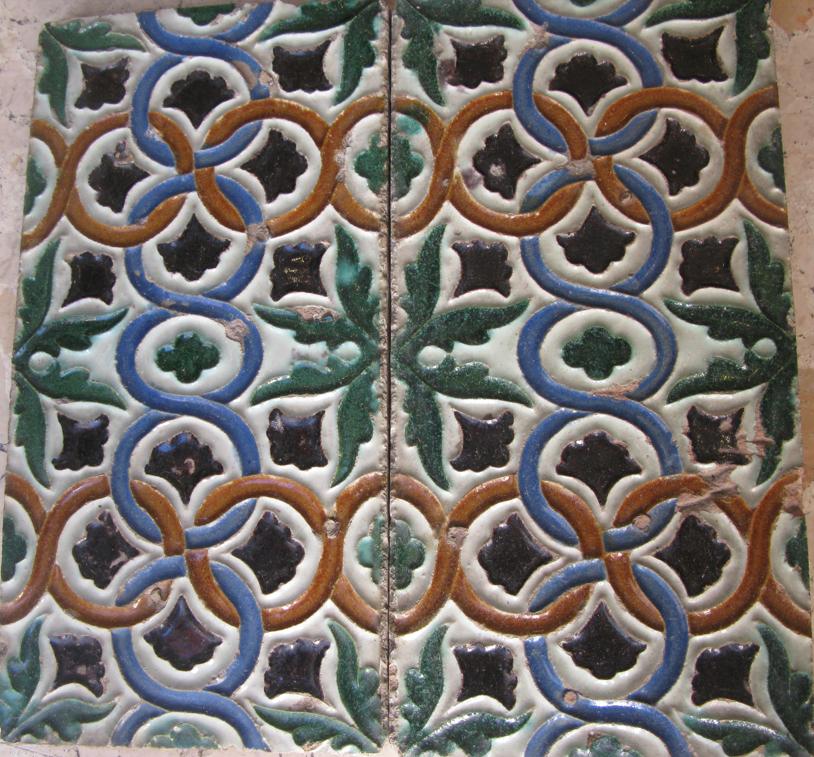 azulejo coco sevilla palo seco