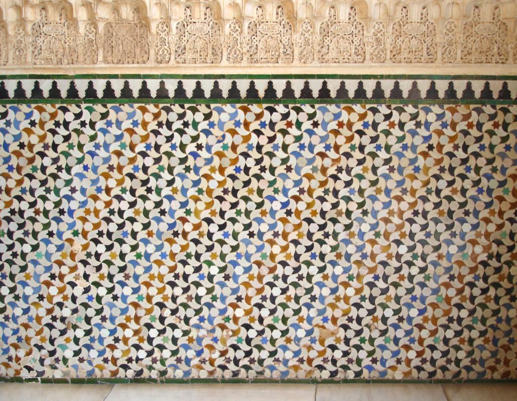 azulejos alicatados alhambra cordoba