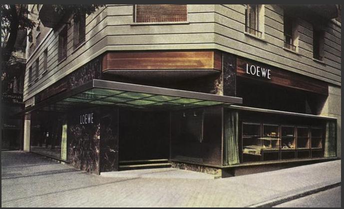 javier Carvajal Loewe shop