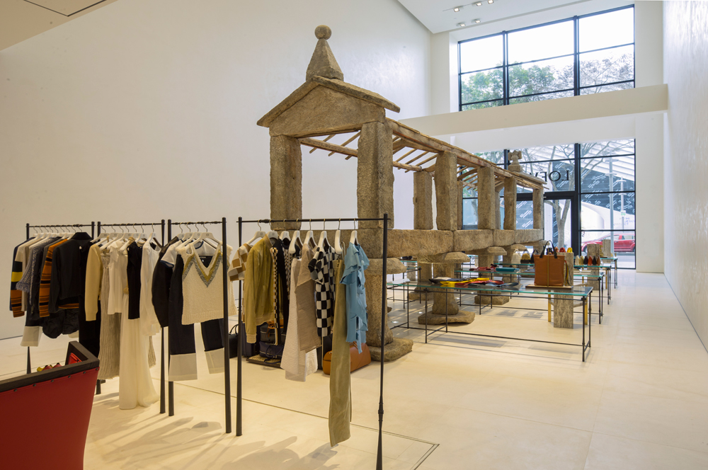 loewe  Horreo miami design district shop