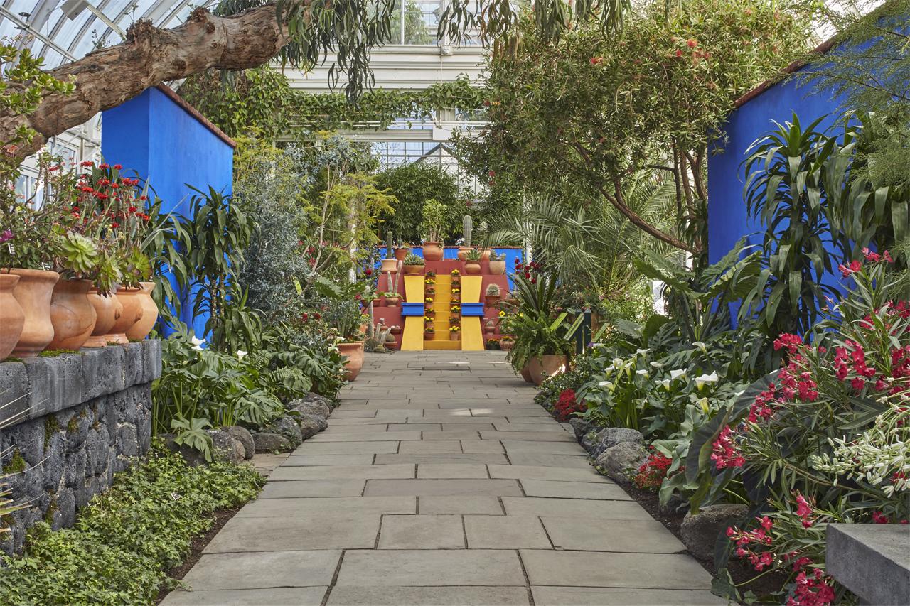 Frida Kahlo casa azul new york botanical gardens
