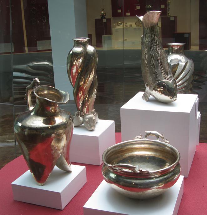 silver at museo de artes populares mexico df