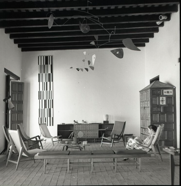 Miguel Arroyo house 1953. Moderno show