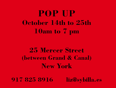 sybilla pop up new york