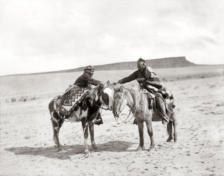 parting friends navajo pennington
