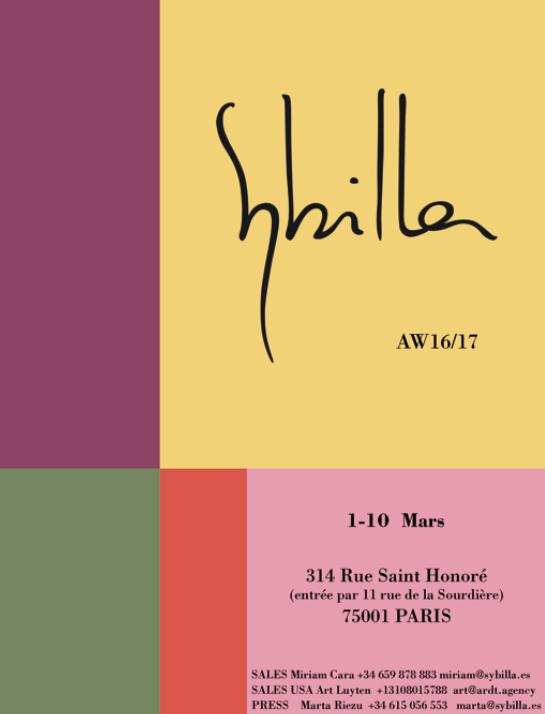 Sybilla AW 2016